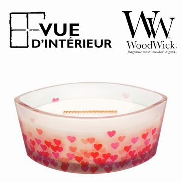 Bougie Parfumée Bakery Cupcake WoodWick Sweet Heart Collection Elipse
