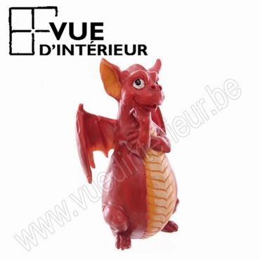 Bruleur Encens Dragon Rouge